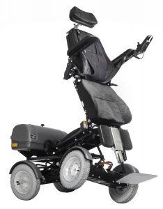 Four X DL sähköpyörätuoli pystyynnostomekanismilla