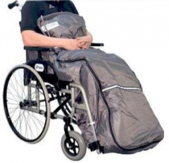 Kangaroo ulkoilupussi pyörätuoliin