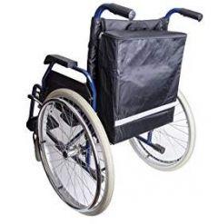 Pyörätuolilaukku selkänojan taakse