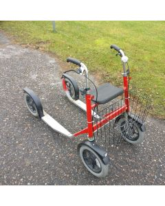 Käytetty pitkä Esla potkupyörä