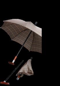 Sateenvarjo-kävelykeppi Gastrock Safebrella Duo