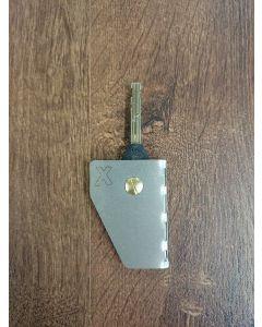 Avaimenperä 1 avaimelle RST