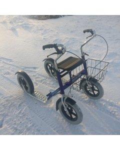 Käytetty Tuplapotku potkupyörä 2014