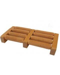 Jalkojen hierontalaite, puinen