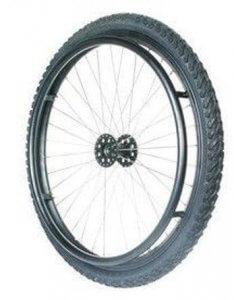 Maastopyöräsetti pyörätuoliin